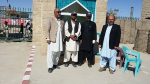 3 Dr Nasir N-STOP  DHO Dr Sultan with Polio team at Pakistan side