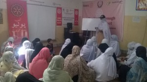 LHWs during Monthly Coordinatio Meeting at PRPRC Nowshera 6