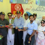 Inauguration of Shelter at Torkham- Pak-Afghan Border (1)