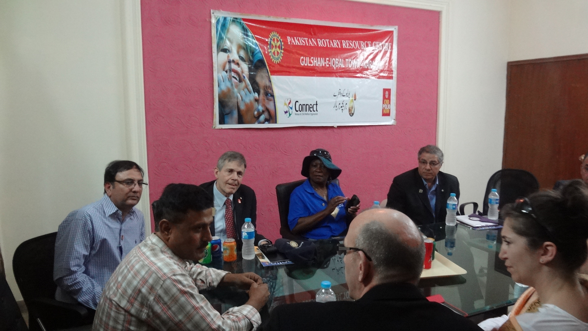 Rotary's Canadian Delegation visited Pakistan Rotary Resource Center